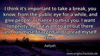 Aaliyah Zitate Auf Englisch Englischezitate De