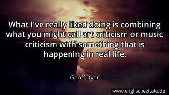 Geoff Dyer Zitate Auf Englisch Englischezitate De