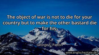 George S Patton Zitate Auf Englisch Englischezitate De