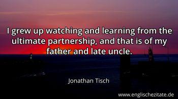 Jonathan Tisch Zitate auf Englisch