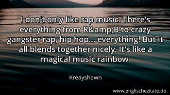 Rap zitate englische Zitate von