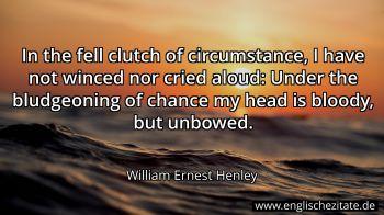 William Ernest Henley Zitate Auf Englisch Englischezitate De